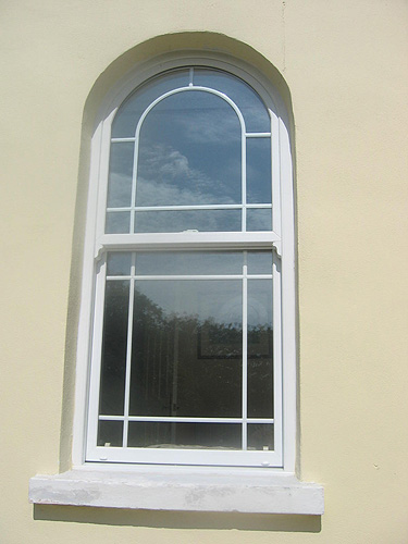 Channel windows limited for Argon gas windows
